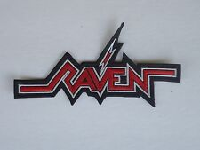 RAVEN EMBROIDERED PATCH