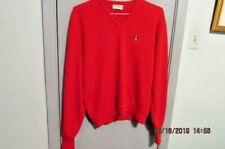 Grand Slam Munsingwear Penguin Red V-Neck Sweater Size XL made in USA vintage