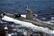 US NAVY ATTACK SUBMARINE USS GRAYBACK 12x18 SILVER HALIDE PHOTO PRINT