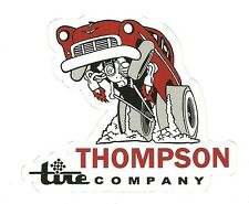 THOMPSON TIRE COMPANY DRAG RACING HOT ROD Sticker Decal