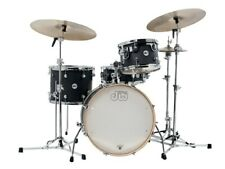 DW Design Drumset Frequent Flyer Schlagzeug Satin Black / Batterie Bateria