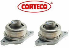 Mercedes W221 S450 Pair Set of Front Side Engine Motor Mounts Corteco