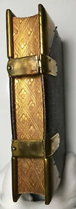 Book Of Common Prayer, Antique 1864, Gold Gauffered Edges, Brass Clasps, Oxford