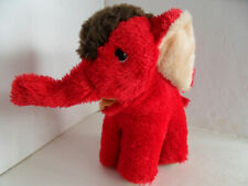 Steiff elephant button  red made in Germany 1216