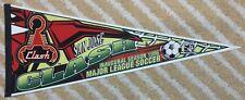 San Jose Clash Inaugural Season 1996 Full Size MLS soccer Pennant