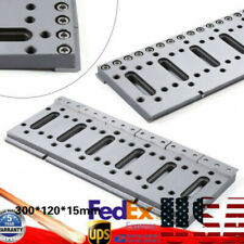 300X120mm Wire Cut Edm Fixture Board Stainless Steel Jig Tool Clamping Leveling