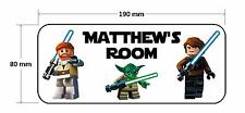 Lego Star Wars Personalised Childrens Bedroom Door Plaque Sign Boys Girls