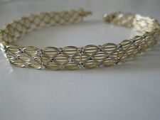 BEAUTIFUL 14KT YELLOW GOLD BRACELET 7 INCHES LONG 8 GRAMS