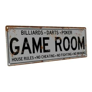 The Barnes Family Round Metal Sign Kitchen Game Room Décor 100140038100