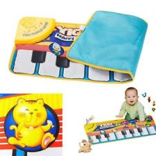 Kids Musical Piano Toys Baby Crawl Mat Animal Educational Soft Kick Play Toys UK