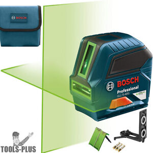 Bosch GLL75-40G 75' Green-Beam Self-Leveling Cross-Line Laser