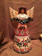 (Imperfect) 2002 Jim Shore Heartwood Creek Angel Of Gratefulness B108921