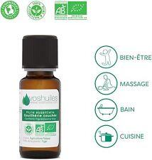 Huile Essentielle BIO de Gaulthérie couchée 5ml 100% pure naturelle Ecocert soin