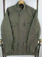 CARHARTT WIP Size XL Mens Army OD Green M-65 Military Jacket Coat Woven Cotton