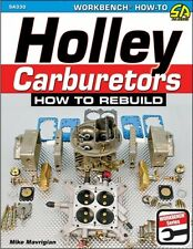 Holley carburateurs-comment reconstruire-book SA330