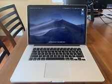 "Apple MacBook Pro 15.4"" Laptop (Mid 2015, Silver) 16GB Ram, 256GB HD, I7 2.2 GHz"