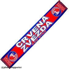 BUFANDA FK CRVENA ZVEZDA RED STAR Serbia scarf no España bandera camiseta gorra