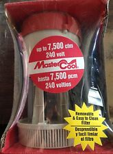 NEW Mastercool 7500 Mod CP400B 240Volt Evaporative Swamp/EVAP Cooler Water Pump