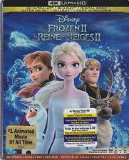 DISNEY FROZEN 2 4K ULTRA HD & BLURAY & DIGITAL SET with Kristen Bell & Josh Gad