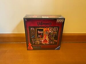 Brand New Ravensburger Disney Villainous Queen of Hearts Puzzle Limited Edition