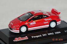 Peugeot 307 WRC 2004 #5 rot 1:87 Schuco neu + OVP 25177