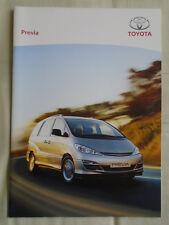 Toyota Previa range brochure Sep 2004