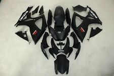 ABS Fairings for suzuki GSXR600/750 06-07 2006 2007 Matt Black stickers colors
