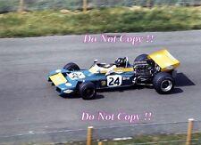 Graham HILL BRABHAM BT34 Olandese GRAND PRIX 1971 fotografia 1