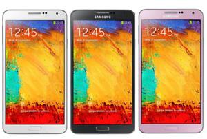 Samsung Galaxy Note 3 32GB 4G Camera 13MP Unlocked Smartphone phone / FULL PACK