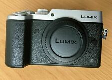 Panasonic LUMIX DMC-GX8 Silver 20.3 MP Body only, 3k shutter count