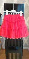 Girls Designer Lili Gaufrette Red Tutu Skirt. Age 4 Years.