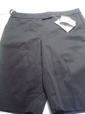 womens shorts small s 6 dressy black 6 jones new york new nwt casual stretch