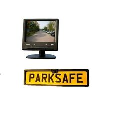 "Parksafe PS006C15 Car Van 3.5"" Parking Monitor Number Plate Camera"