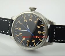 Parnis 55mm large size pilot Automatic Men's Watch without logo