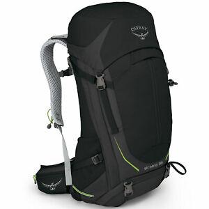 Osprey Stratos 36 Litre Herren-Wanderrucksack Hiking-Rucksack Randonnée Noir