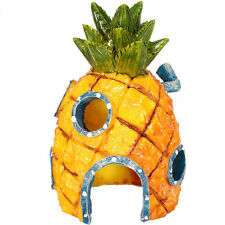Spongebob Pineapple House Home Ornament Hole Cave For Aquarium Fish Tank Decor