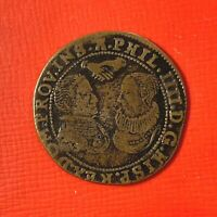#5044 - Espagne Jeton Espagne Counter token marriage of Philip IV and Archduches