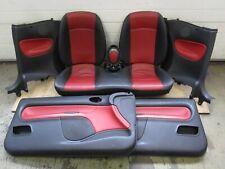 Lederausstattung Türverkleidung Rücksitz Leder Peugeot 206 CC