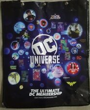 DC Universe Swag Bag Backpack WB DC Tote  SDCC 2018 Comic Con EXCLUSIVE