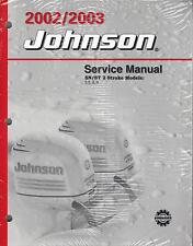 2002-2003 JOHNSON OUTBOARD SN/ST 2 STROKE  P/N 5005466 SERVICE MANUAL (801)