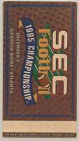 SEC 1995 Championship Football Ticket Stub Florida Gators vs Arkansas Razorbacks