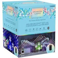 Gemmy Orchestra of Lights Ultimate Holiday LED LightShow Projection Set Speaker