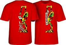Powell Peralta Ray Barbee Rag Doll Skateboard T Shirt Red Medium