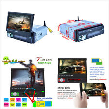 7Inch Touch Quad-core Android Car Stereo MP5 Player GPS Navigation WiFi FM Radio