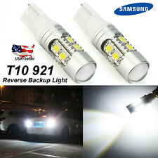 2x 921 Super Bright White LED Car Reverse Backup Light Bulbs 2014-2017 For Honda