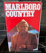 MARLBORO MAN CIGARETTES GENUINE VINTAGE FLASHING LIGHT BOX SHOP DISPLAY SIGN