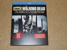 AMC THE WALKING DEAD, THE COMPLETE SIXTH SEASON WITH SLIPCOVER, 5 DISC BLU-RAY