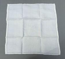 Lot de 12 anciennnes serviettes de table brodé noté YM  french antique tissue