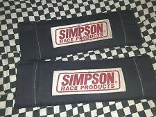 "Vintage Simpson race product Harness pads seatbelt 3"" -2"" drag Racing rat rod"