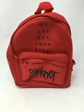 Slipknot, We Are Not Your Kind, Mini Red Backpack Hot Topic